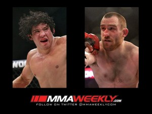 Gilbert Melendez and Pat Healy - Strikeforce