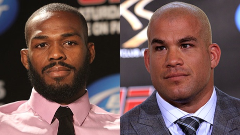 Jon Jones and Tito Ortiz