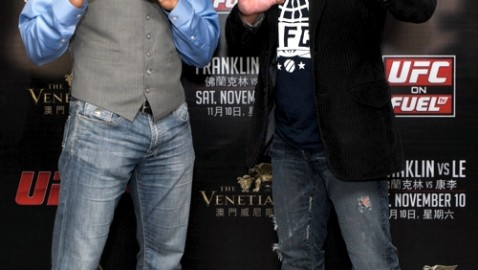 Rich Franklin and Cung Le in Macau-UFC-478x270