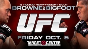 UFC on FX 5 Browne vs Bigfoot