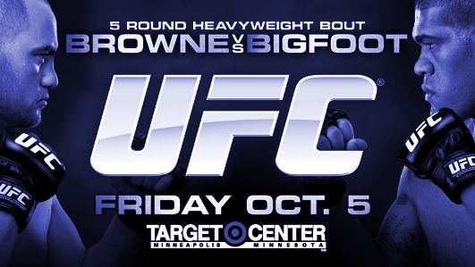 UFC on FX 5 Browne vs Bigfoot Poster-BLUE-478x270