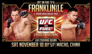 UFC on Fuel TV 6 in China Poster