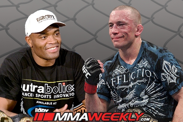 Anderson Silva vs Georges St-Pierre