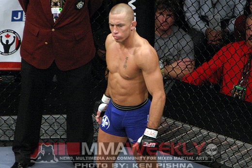 Georges St-Pierre at UFC 79