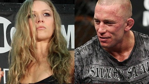 Ronda Rousey and Georges St-Pierre-478x270
