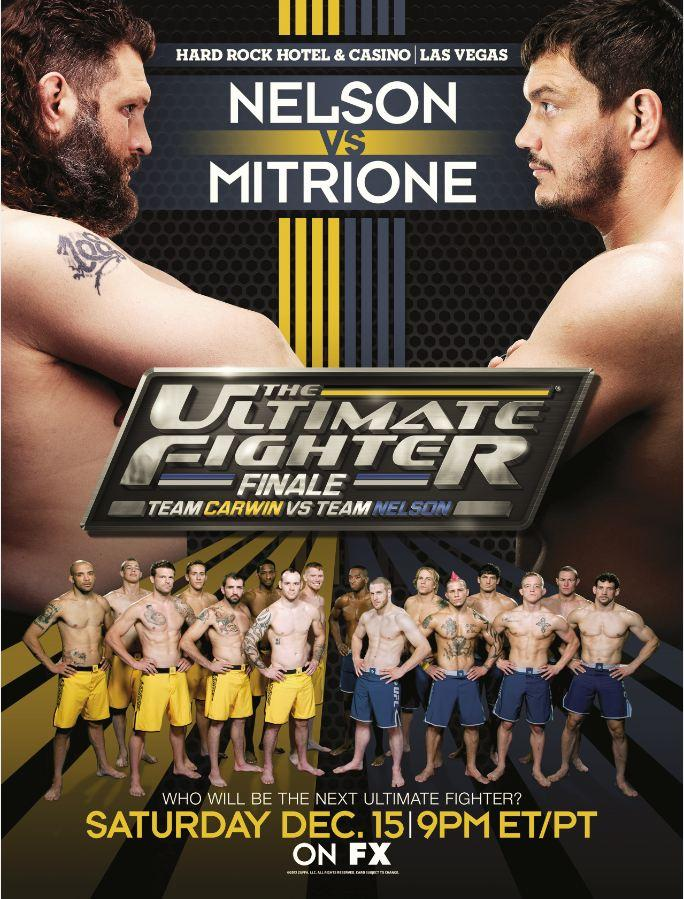 The Ultimate Fighter 16 Finale poster- TUF 16 Finale poster