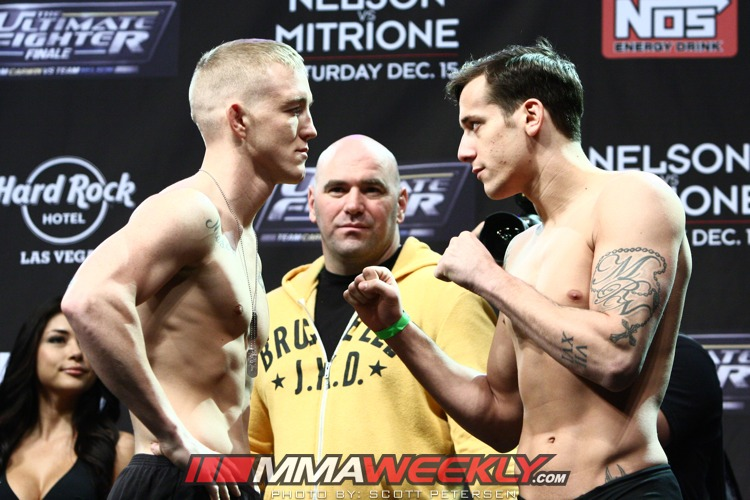Colton Smith and Mike Ricci TUF 16 Finale