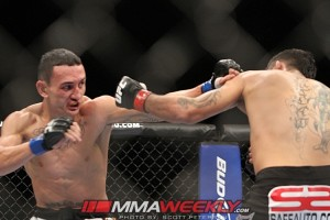 Leonard Garcia vs Max Holloway UFC 155