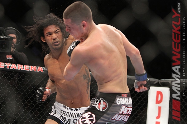 Benson Henderson vs. Nate Diaz at UFC on Fox 5