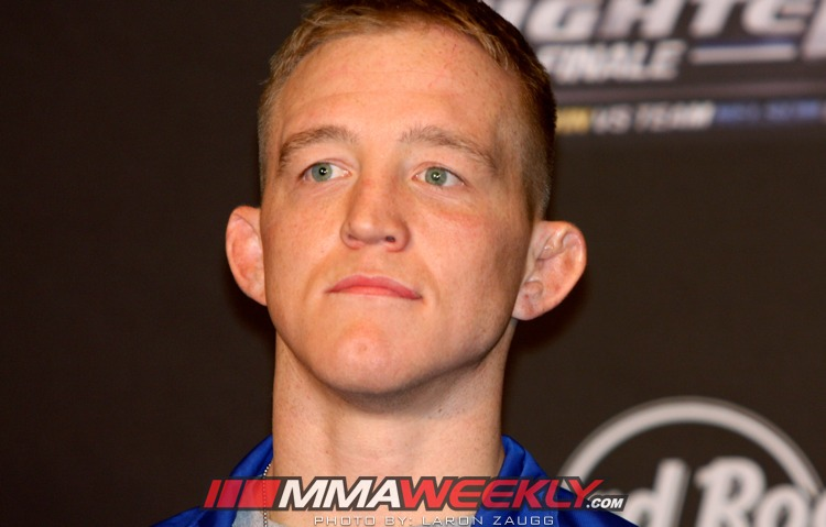 Colton Smith at the TUF 16 Finale