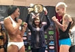 Carla Esparza vs Bec Hyatt at Invicta FC 4 weigh-ins