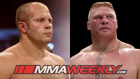 Fedor vs Brock Lesnar