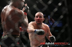 Glover Teixeira vs Rampage Jackson at UFC on Fox 6