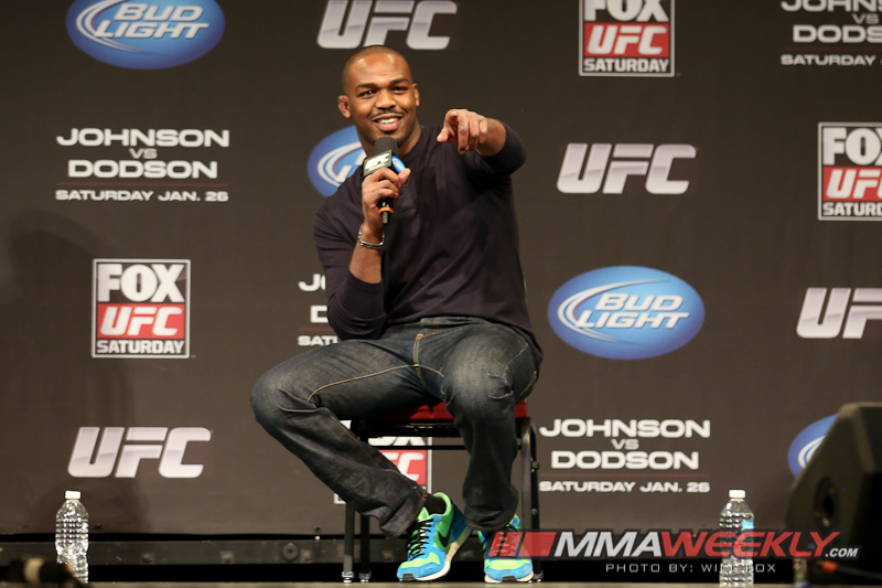 Jon Jones at Fan Q&A