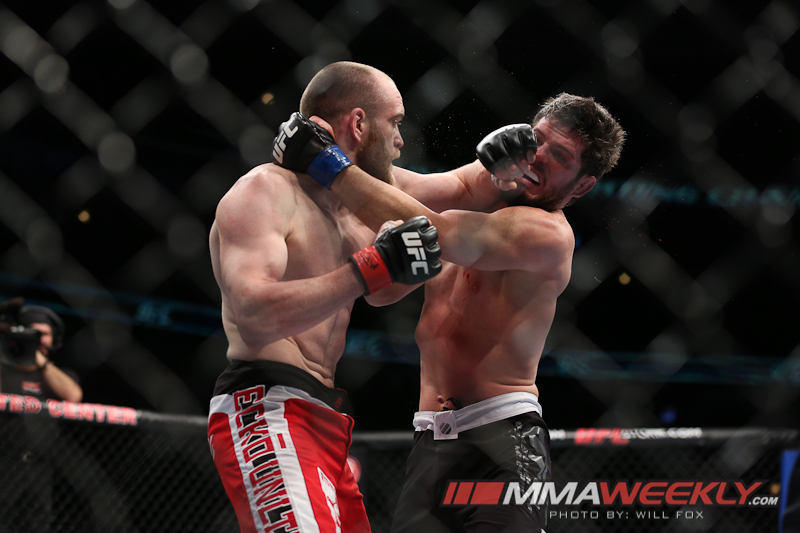 TJ Grant vs Matt Wiman at UFC on Fox 6