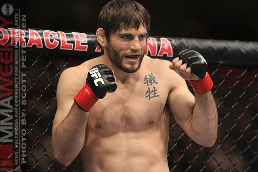 Jon Fitch at UFC 117