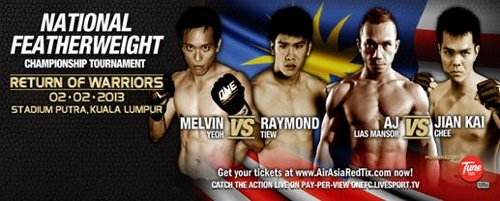One FC Malaysia FW Title Poster