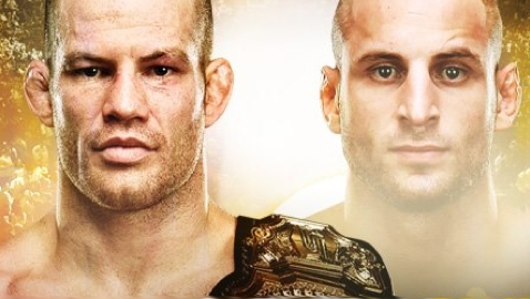 Strikeforce Marquardt vs Saffiedine Poster