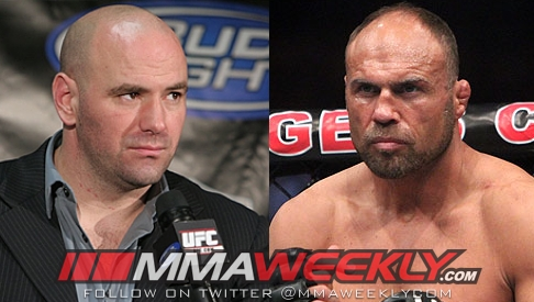 Dana White vs Randy Couture