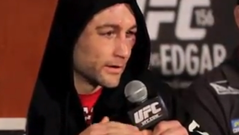 Frankie Edgar UFC 156 Post