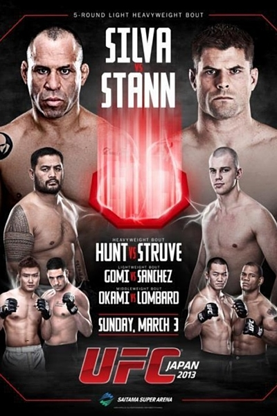 UFC on Fuel TV 8 Poster