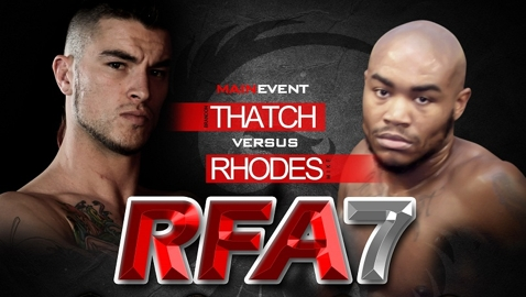 RFA 7 Thatch vs Rhodes Poster