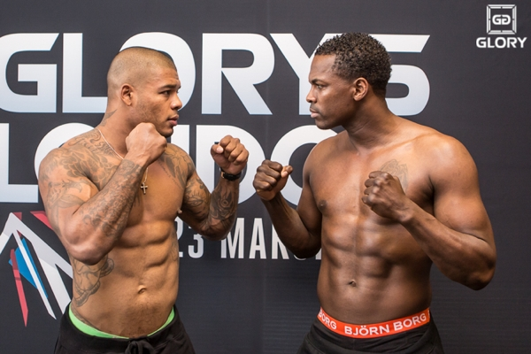 Tyrone Spong vs Remy Bonjasky Glory 5 weigh