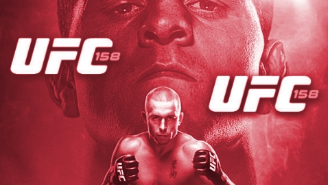 UFC 158 Poster PBP-RED-478x270
