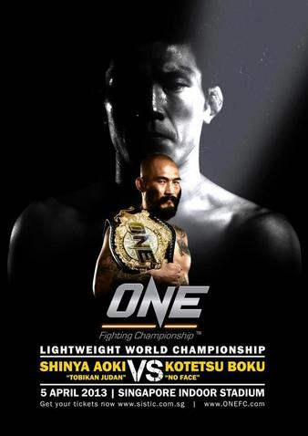 One FC 8 Kings & Champions Poster