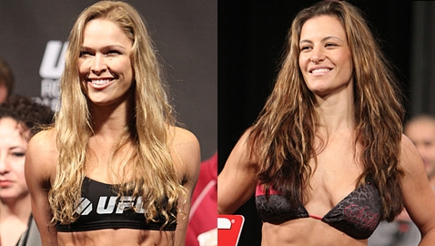 Miesha tate ronda rousey site question