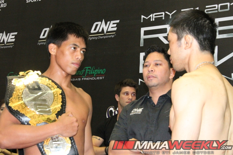 Honorio Banario vs Koji Oishi One FC 9