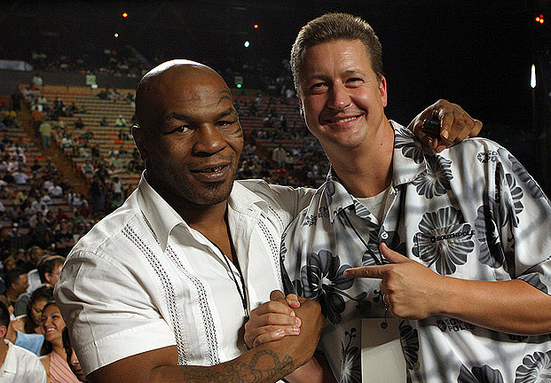 Mike Tyson and Ryan Bennett