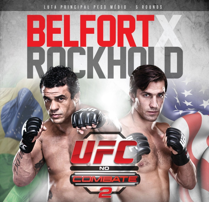 UFC on FX 8 Brazilian Poster-Chop