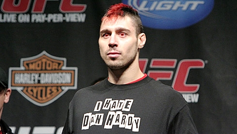 Dan Hardy at UFC 111