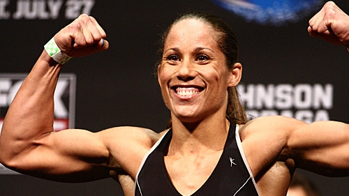 ufc on fox 8 results liz carmouche dominates making her case for