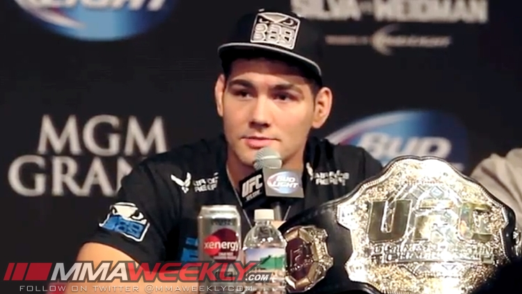Chris Weidman UFC Champion