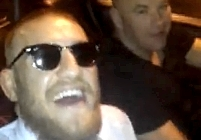 Conor McGregor and Dana White video-110x77