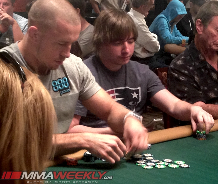 Georges St-Pierre - World Series of Poker