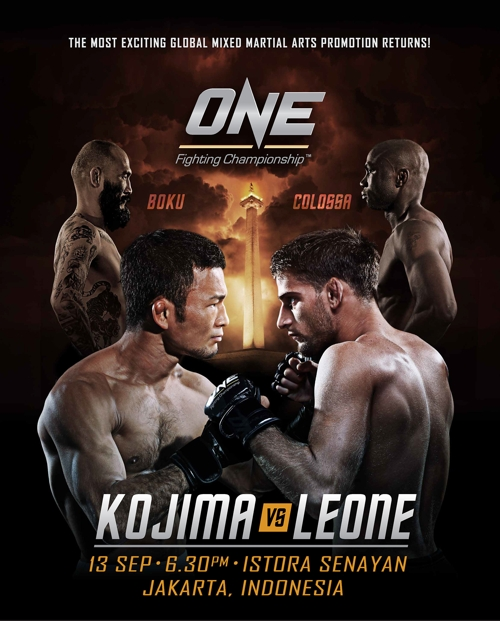 One FC Kojima vs Leone Poster