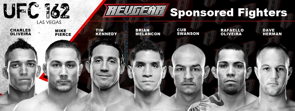 Revgear UFC 162 fighters