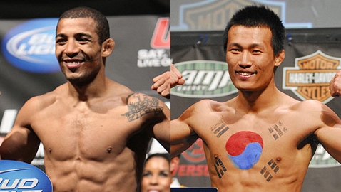 Jose Aldo and Chang Sung Jung-Korean Zombie
