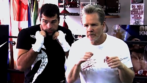 Shogun Rua and Freddie Roach