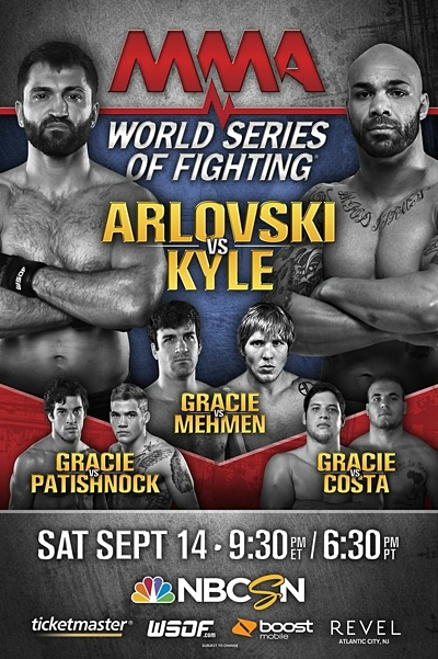 World Series of Fighting 5 Poster