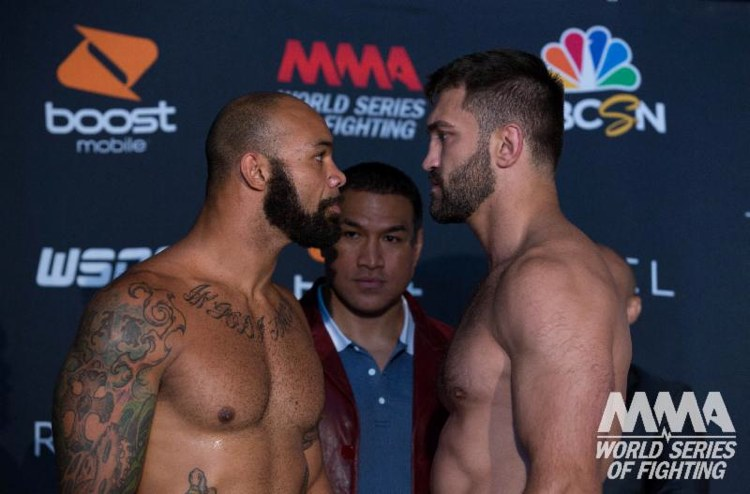 Mike Kyle vs Andrei Arlovski WSOF 5 Weigh