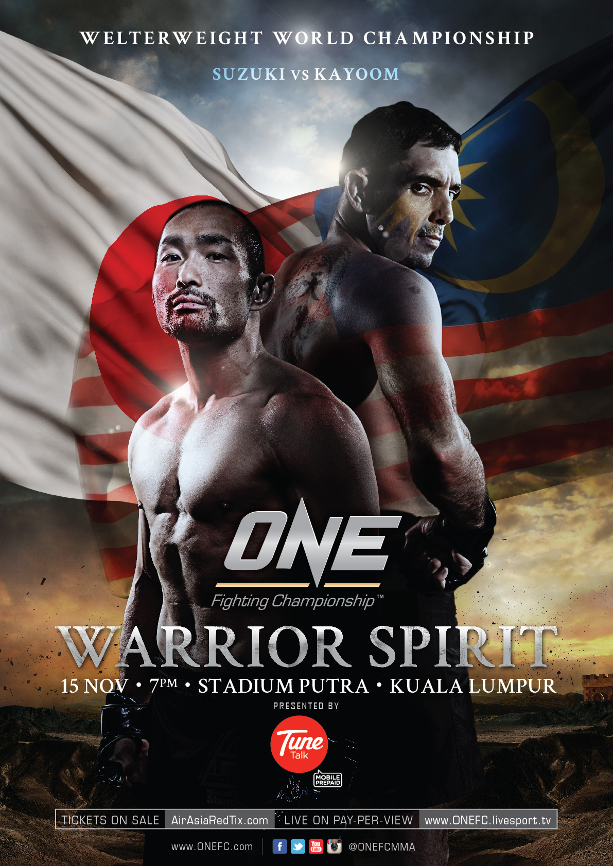One FC 12 Warrior Spirit Poster