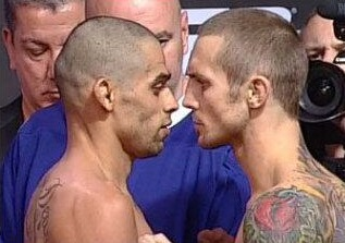 Renan Barao vs Eddie Wineland UFC 165 weigh-110x77