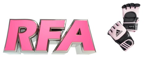 RFA Logo & Pink Gloves