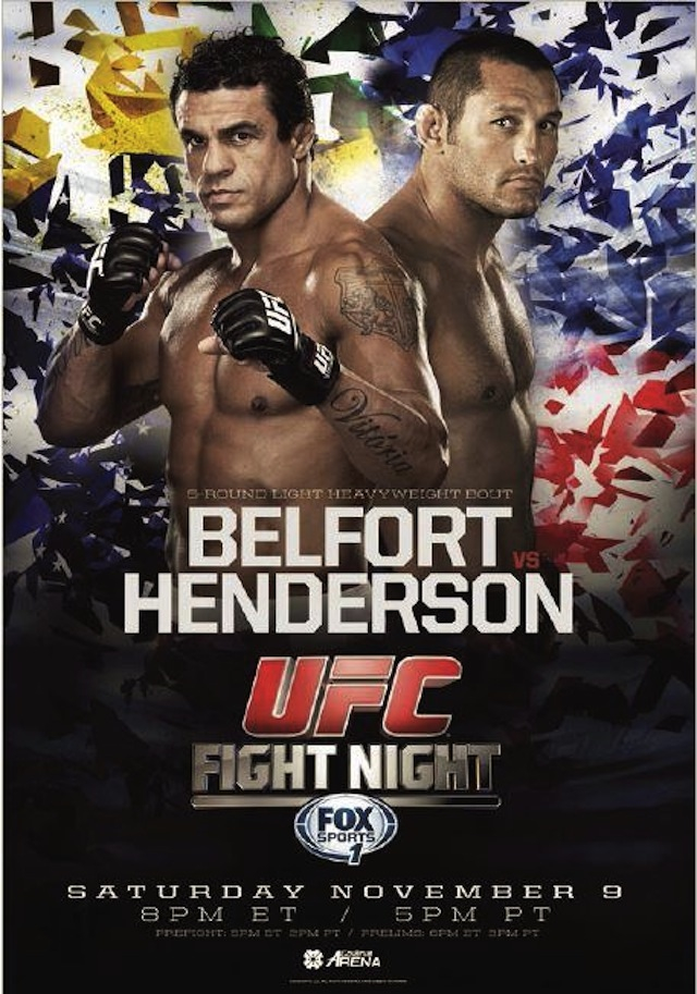 UFC Fight Night 32 poster