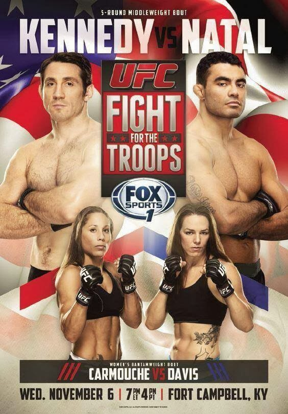 UFC Fight for the Troops 3 poster