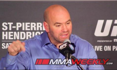 Dana White Heated at NSAC